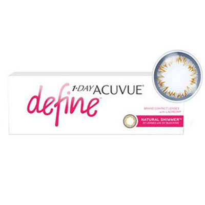 «1-DAY Acuvue Define Natural Shimmer» 30 штук