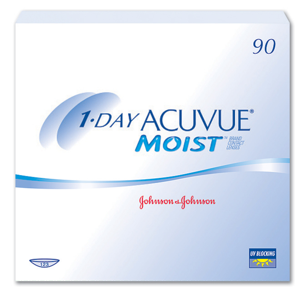 «1-DAY Acuvue moist» 90 штук