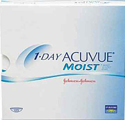 «1-DAY Acuvue moist» 180 штук