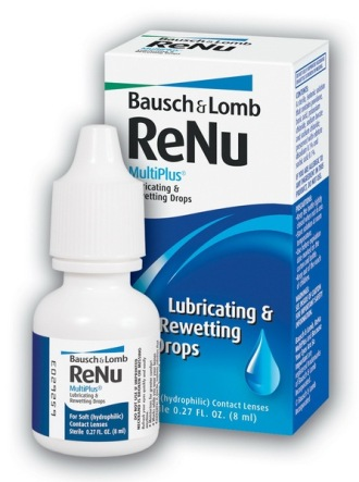 Bausch & Lomb Капли для глаз Renu MultiPlus Rewetting Drops 8мл