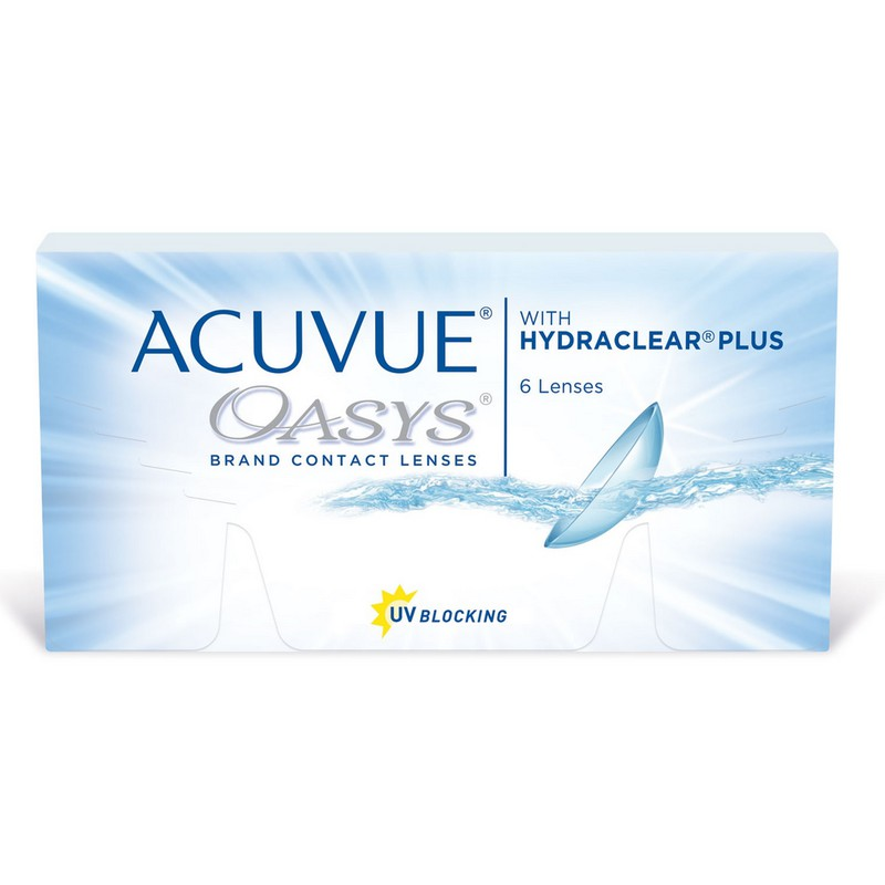 «Acuvue Oasys» 6 штук
